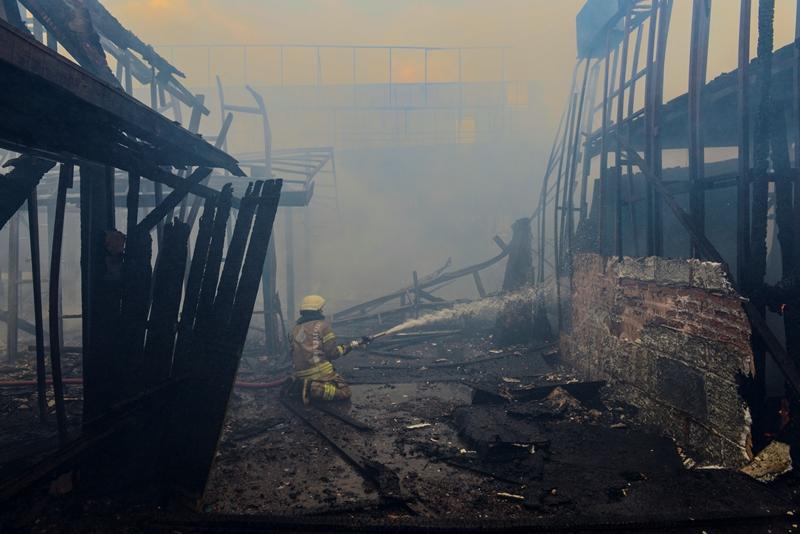 Beykozda fabrika yangını - Haberler - İstanbul İtfaiyesi