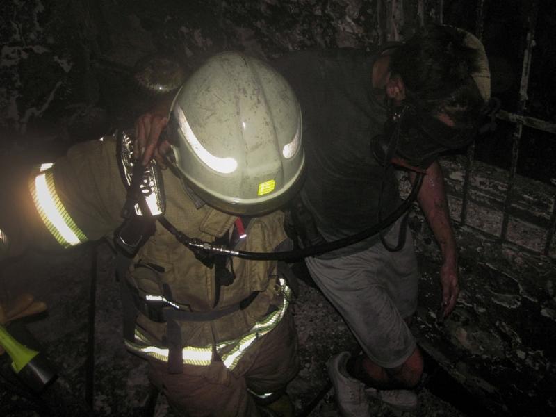 Şişlide ikametgah yangını - Haberler - İstanbul İtfaiyesi