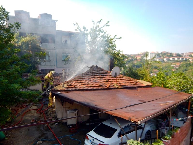 Beykozda gecekondu yangını - Haberler - İstanbul İtfaiyesi
