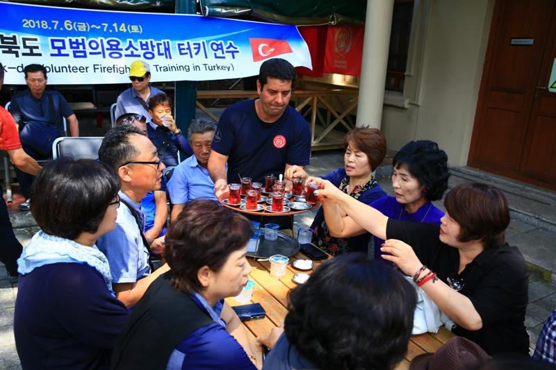 Güney Kore itfaiyecilerinden İstanbul İtfaiyesine ziyaret - Haberler - İstanbul İtfaiyesi