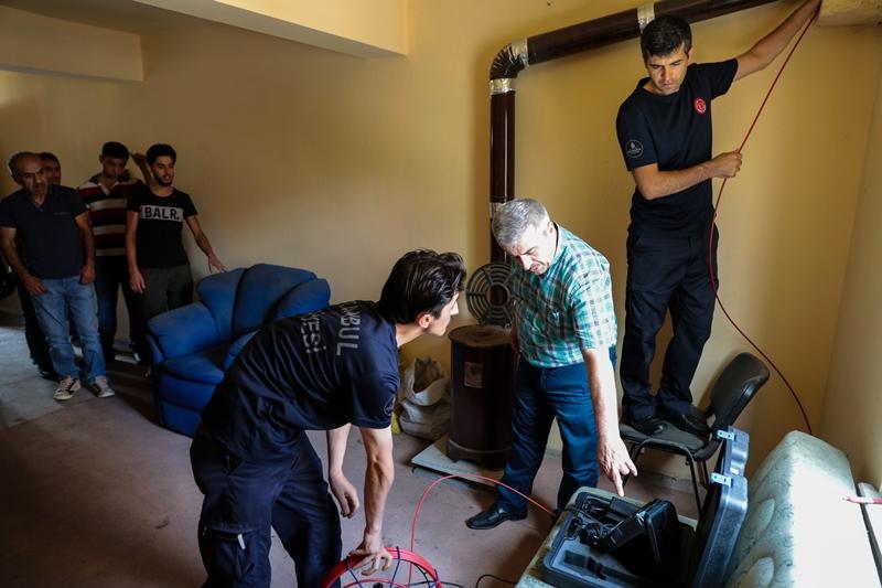 Eğitimlerimiz baca bilgisi ve müdahale teknikleri eğitimi ile devam ediyor - Haberler - İstanbul İtfaiyesi