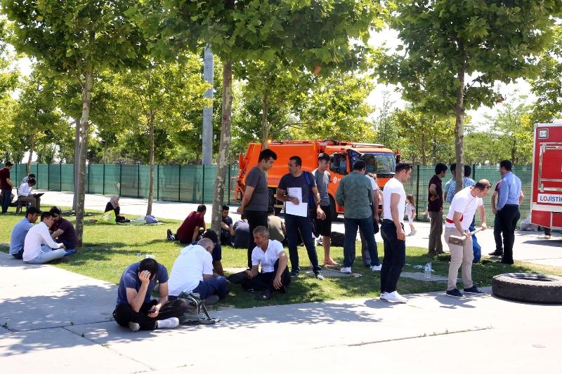 İtfaiye eri olmak için ter döküyorlar - Haberler - İstanbul İtfaiyesi