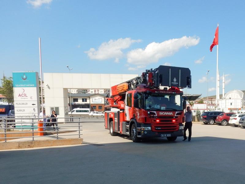 Tuzla Devlet Hastanesinde yangın tatbikatı gerçekleştirdik - Haberler - İstanbul İtfaiyesi