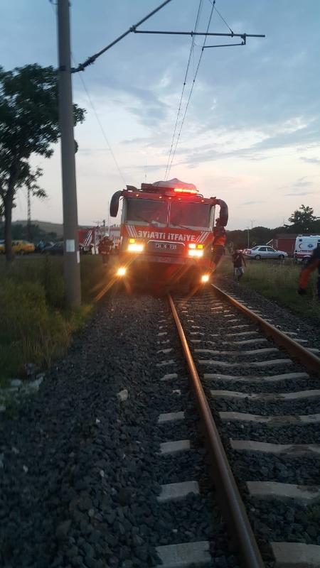 İBB Tekirdağdaki tren kazasına kurtarme ekibi gönderdi - Haberler - İstanbul İtfaiyesi