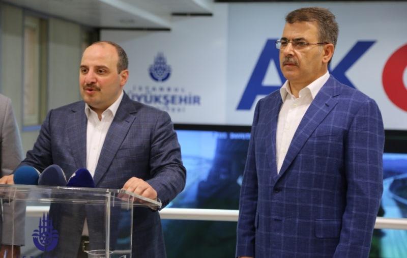Bakan Varank AKOM'u ziyaret etti - Haberler - İstanbul İtfaiyesi
