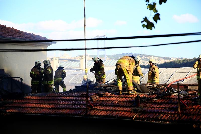 Beşiktaştaki sinema yangını kısa sürede söndürüldü - Haberler - İstanbul İtfaiyesi