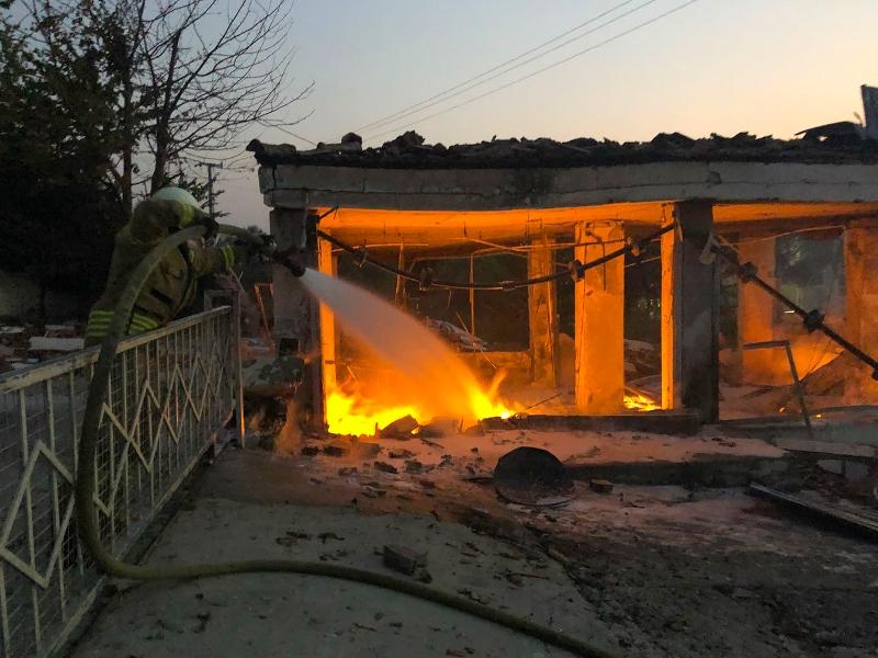 Kayaşehirde iş yeri yangını - Haberler - İstanbul İtfaiyesi