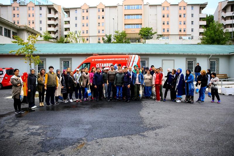 Engelli kardeşlerimiz ile itfaiye haftasını kutladık - Haberler - İstanbul İtfaiyesi