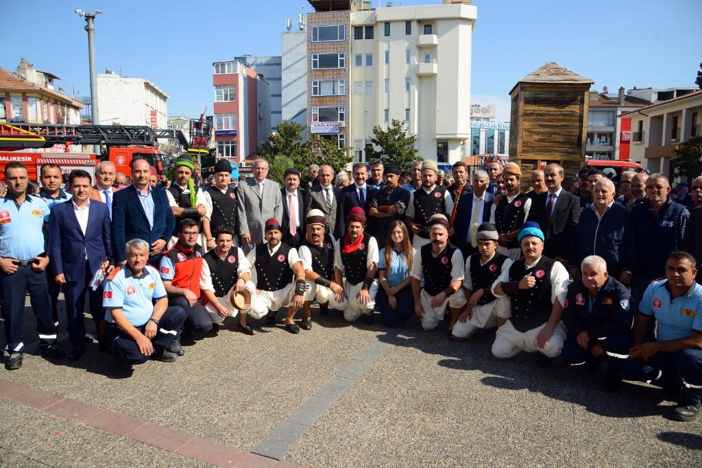 İstanbulun Tulumbacıları Balıkesirdeydi - Haberler - İstanbul İtfaiyesi