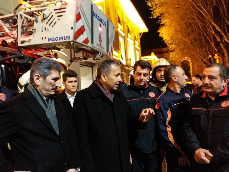 İstanbul Valimiz Sayın Ali YERLİKAYA, Fatih İtfaiye İstasyonumuzu ziyaret etti - Haberler - İstanbul İtfaiyesi