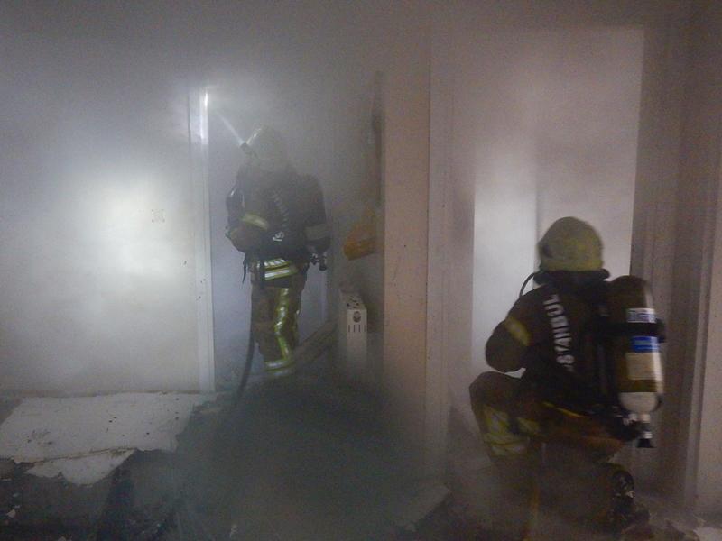 Yakupluda çatı yangını - Haberler - İstanbul İtfaiyesi
