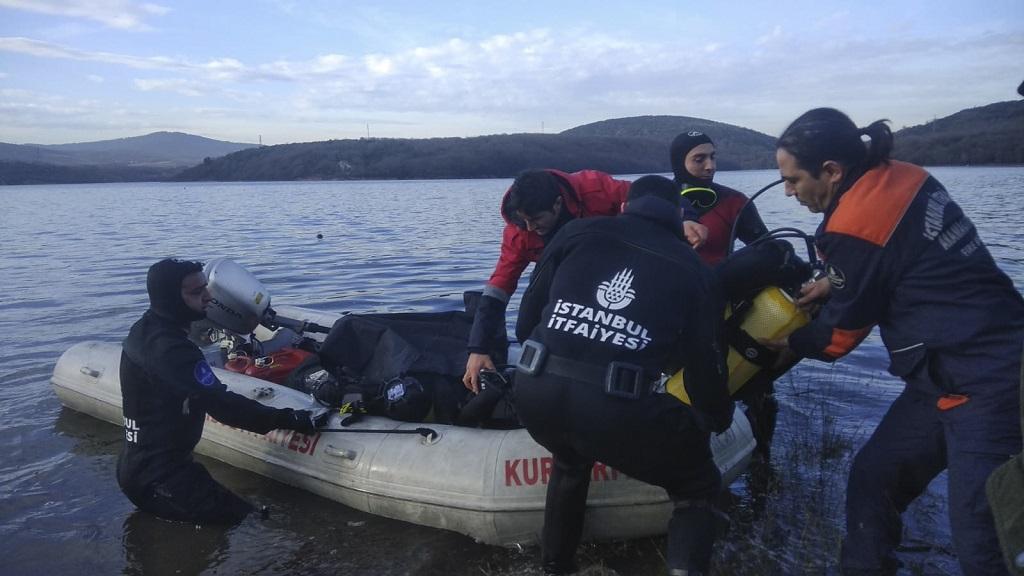 Ömerli Barajında Amfibi ATV kazası - Haberler - İstanbul İtfaiyesi