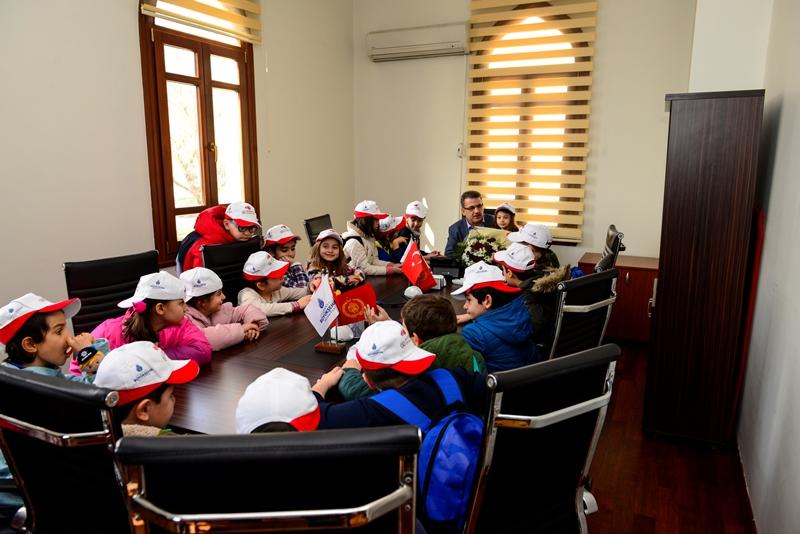 Yarının büyükleri minik kardeşlerimiz bizleri ziyaret etti - Haberler - İstanbul İtfaiyesi