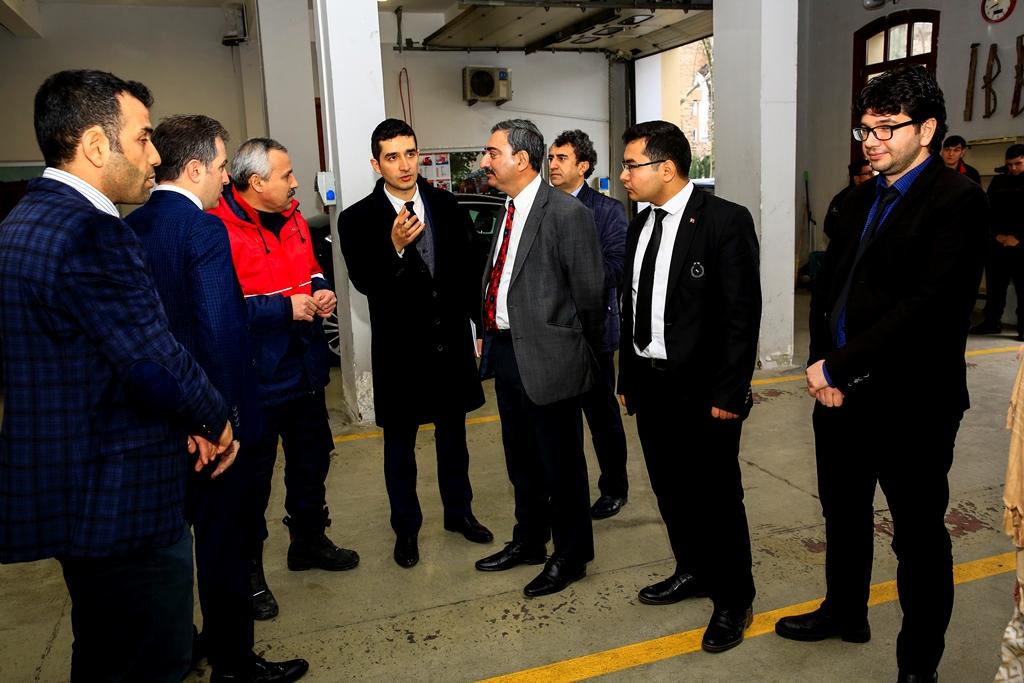 Pakistanlı misafirlerimizi ağırladık - Haberler - İstanbul İtfaiyesi