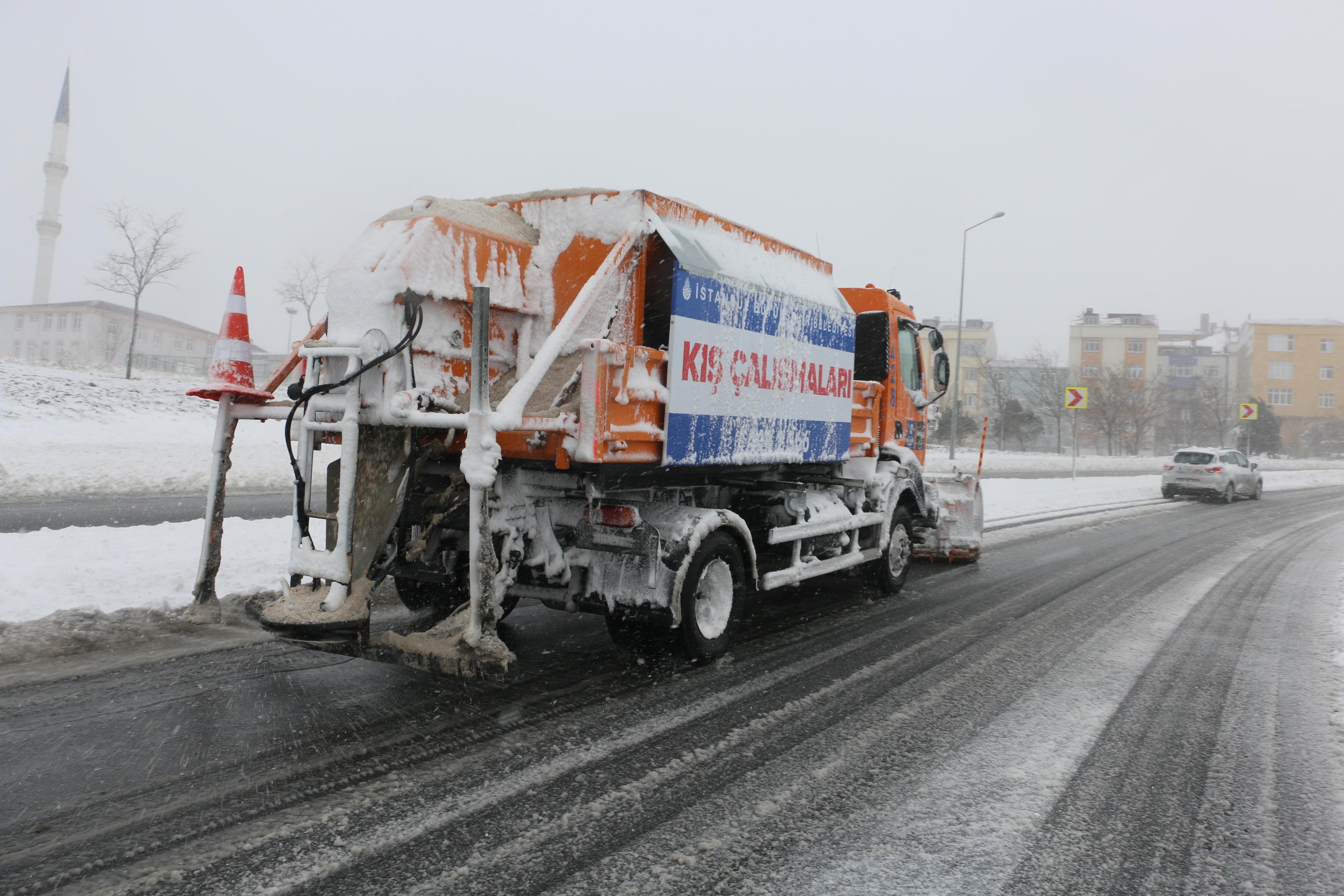 İBB AKOM kar için teyakkuzda - Haberler - İstanbul İtfaiyesi