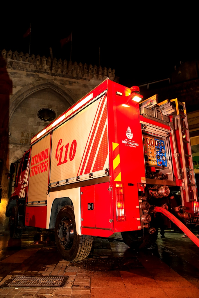 Kapalıçarşıda işyeri yangını - Haberler - İstanbul İtfaiyesi
