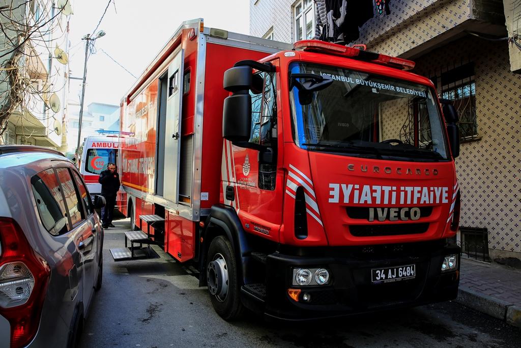 Bağcılarda işyeri yangını - Haberler - İstanbul İtfaiyesi