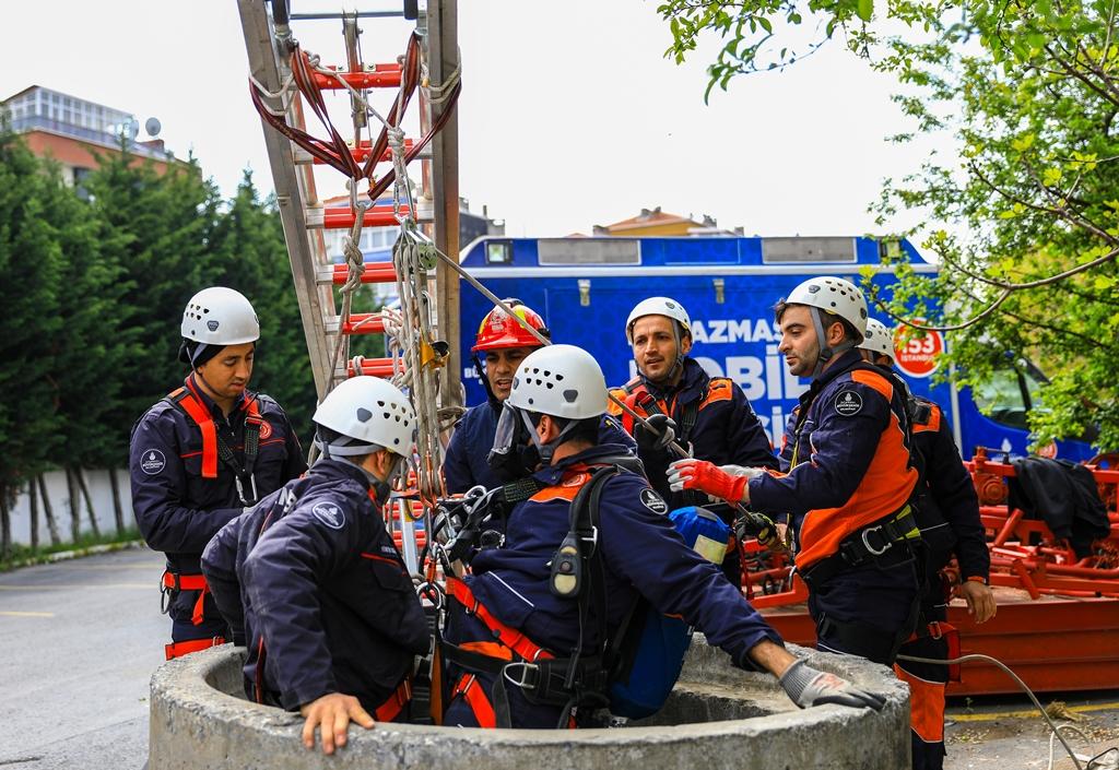 Eğitimlerimize İleri Düzey Arama Kurtarma Eğtimi  ile devam ediyoruz - Haberler - İstanbul İtfaiyesi