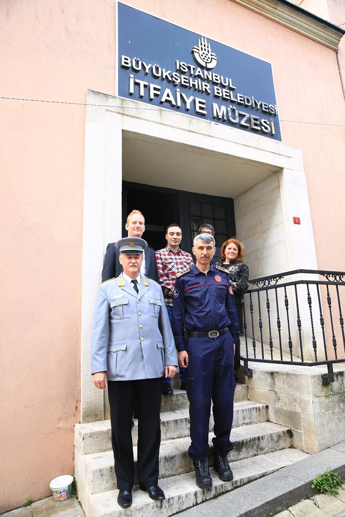 Macaristan'dan gelen itfaiye heyetini misafir ettik - Haberler - İstanbul İtfaiyesi