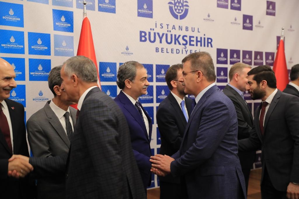 Yerlikaya, İBB ailesiyle bayramlaştı - Haberler - İstanbul İtfaiyesi