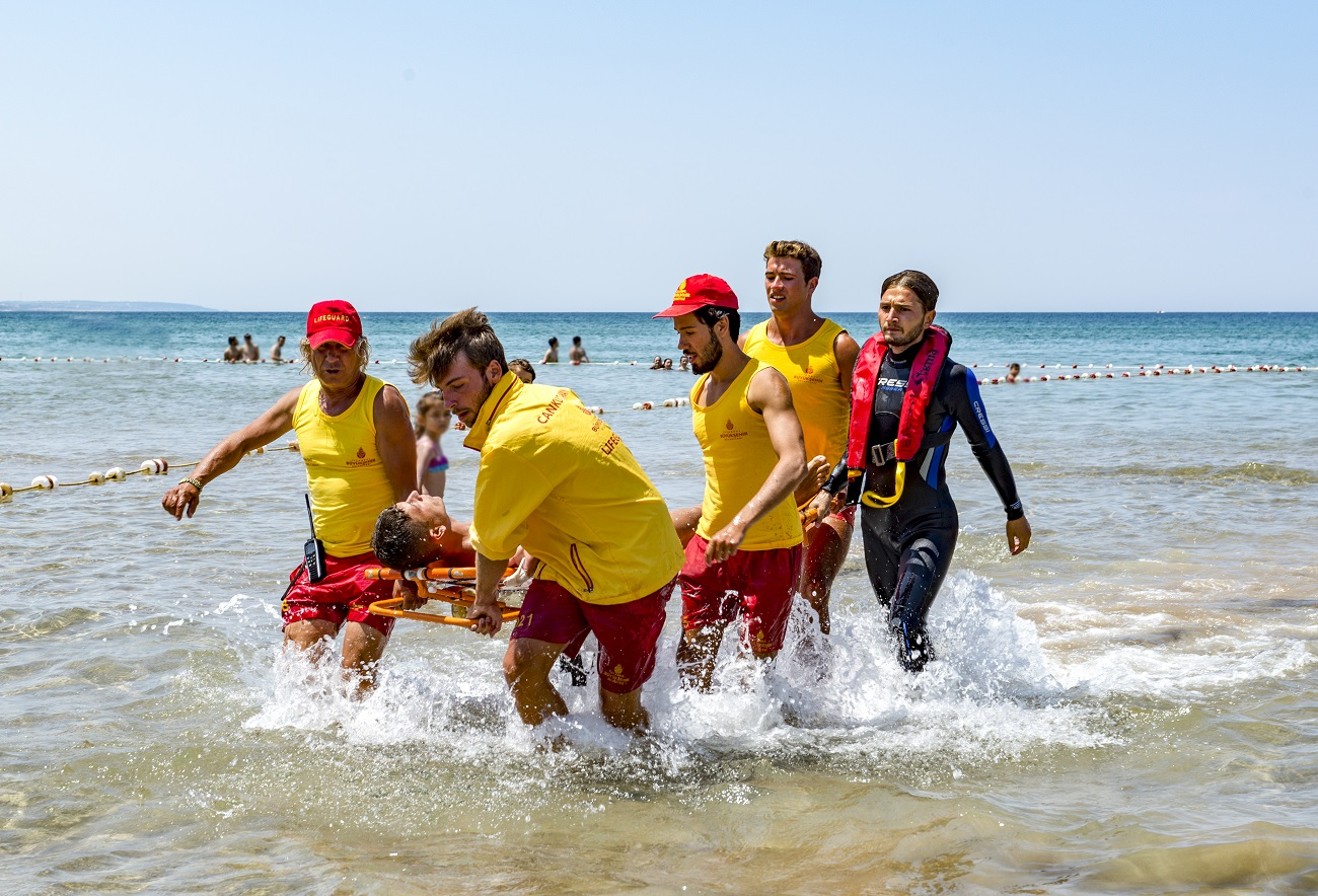 Plajlarda Can Kurtarma - İstanbul İtfaiyesi