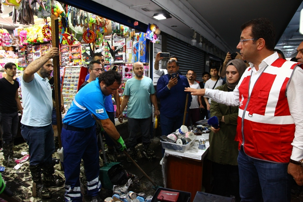 Mayor İmamoğlu: Istanbul Cannot be Fixed with Band-Aid Solutions - News - Istanbul Fire Department