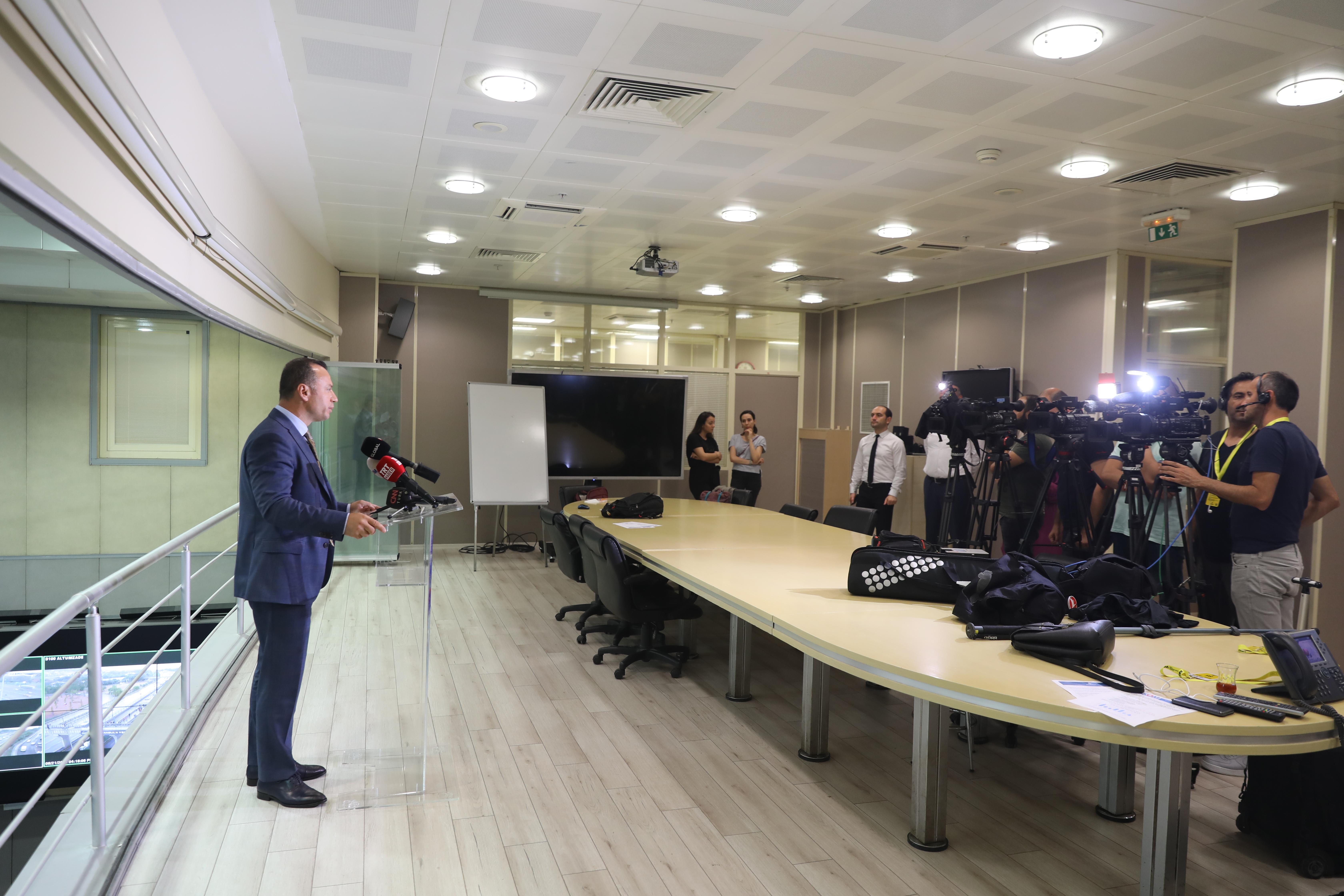Murat Yazıcı: İstanbulu AKOMdan 7/24 izliyoruz - Haberler - İstanbul İtfaiyesi