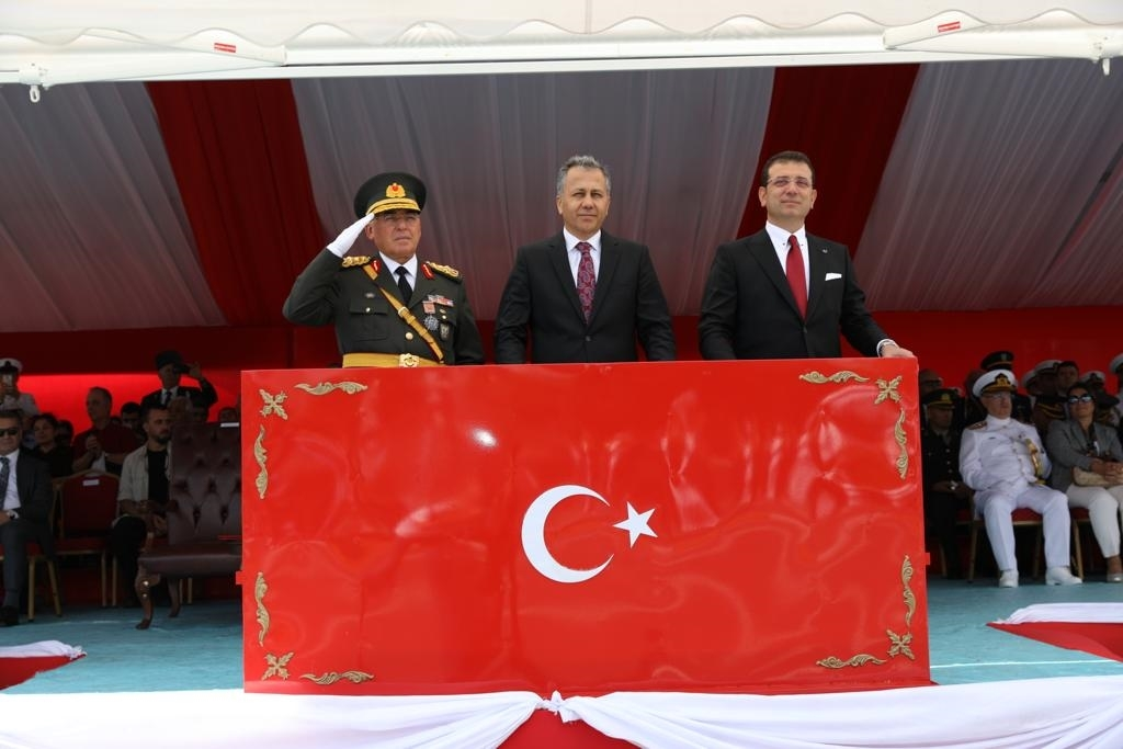 "Mayor İmamoğlu: ""Let Our National Unity Grow Ever Stronger"" - News - Istanbul Fire Department"
