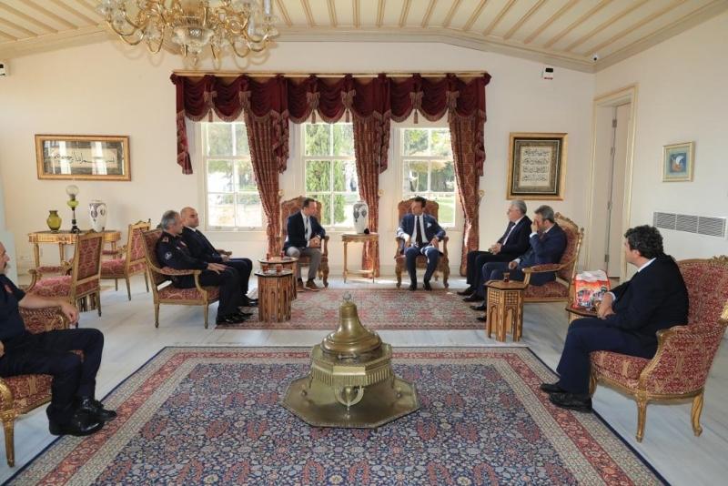 İtfaiyecileri ağırlayan Başkan İmamoğlu, Polatı unutmadı: İlk fırsatta tekrar ziyaretine gideceğim - Haberler - İstanbul İtfaiyesi