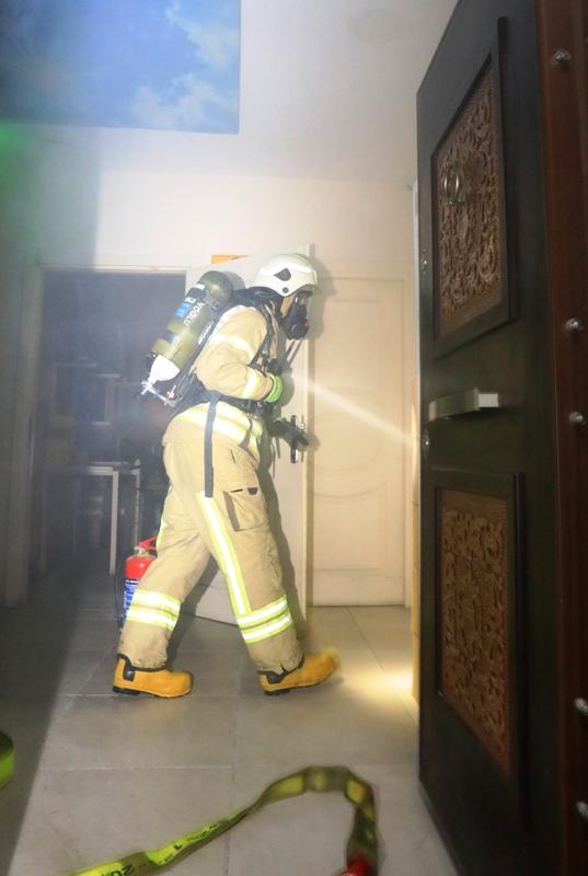 Kağıthanede işyeri yangını - Haberler - İstanbul İtfaiyesi