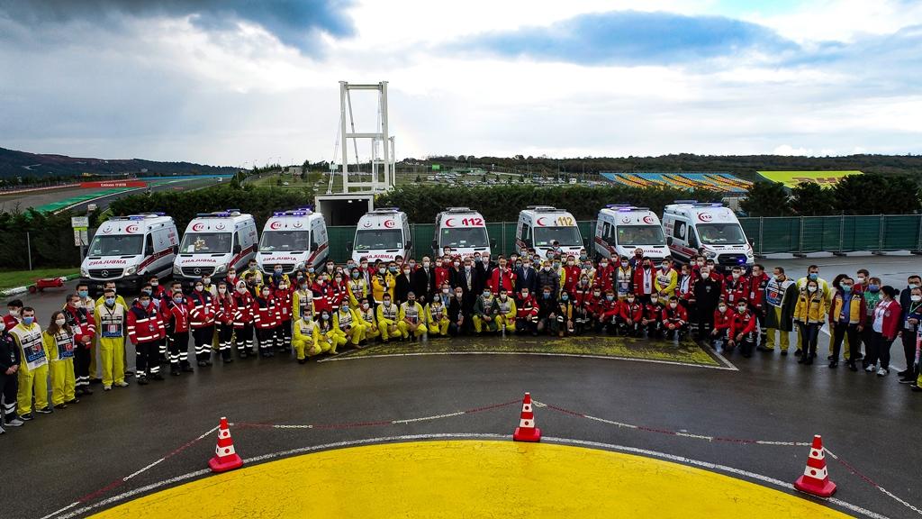İBBden Formula 1 Grand Prixine tam destek - Haberler - İstanbul İtfaiyesi