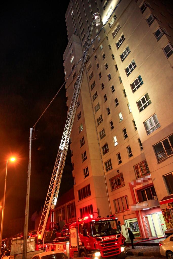 Esenyurtta daire yangını - Haberler - İstanbul İtfaiyesi