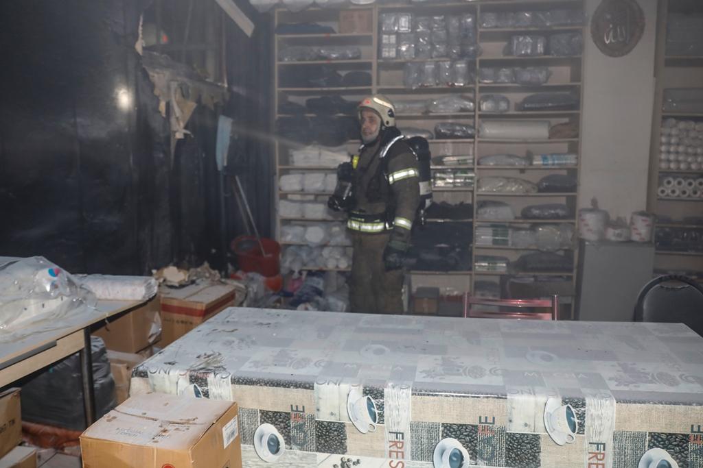 Beyoğlunda yangın - Haberler - İstanbul İtfaiyesi