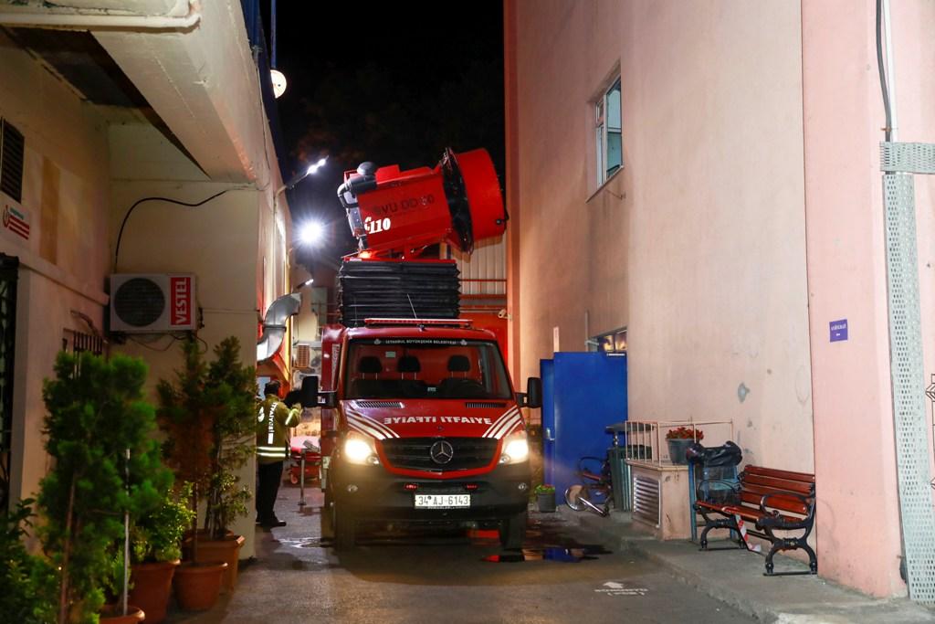 Fatihte hastane yangını - Haberler - İstanbul İtfaiyesi