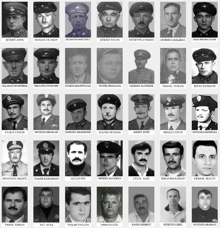 Our Martyrs - Istanbul Fire Department