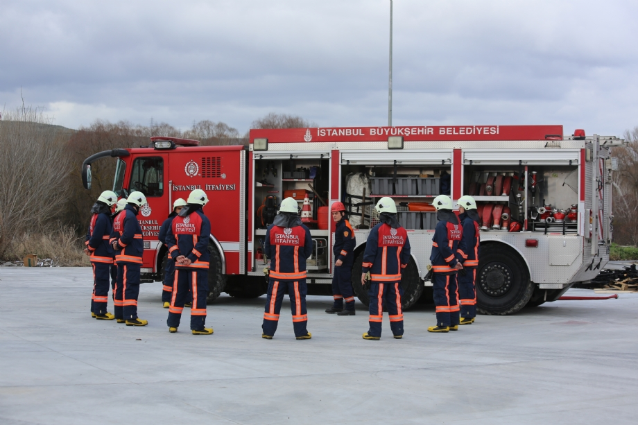 Training - Istanbul Fire Department